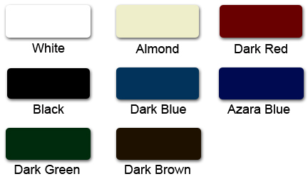 Poly-metal Standard Colors